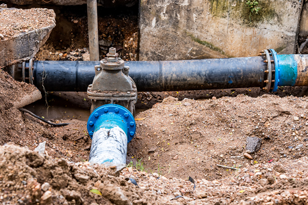 main water line repair plumber WVC